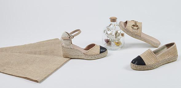H.JPT Sandales Talons Compensés Chaussures Escarpins Talons